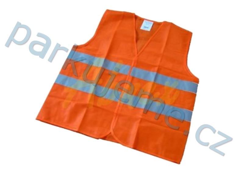 Reflexní vesta oranžová